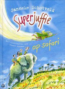 Superjuffie op safari Boek omslag