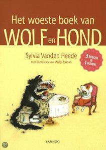 Woeste boek van Wolf en Hond, het Boek omslag