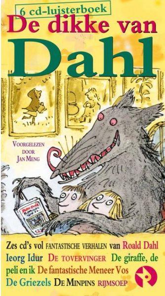 Dikke van Dahl luisterboek, de Boek omslag