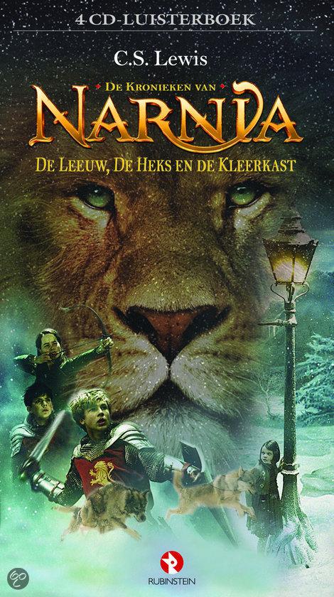 Narnia: de leeuw, de heks en de kleerkast luisterboek Boek omslag