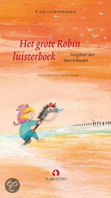 Grote Robin luisterboek, het Boek omslag