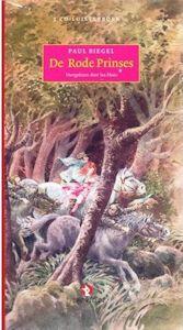Rode prinses luisterboek, de Boek omslag