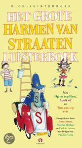 Grote Harmen van Straaten Luisterboek, het Book Cover