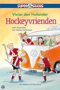 Hockeyvrienden Boek omslag