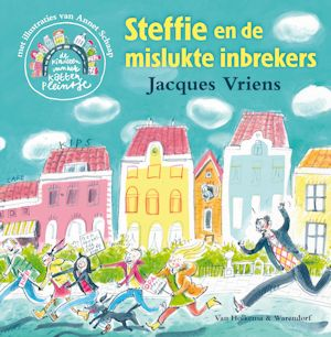 Steffie en de mislukte inbrekers Book Cover