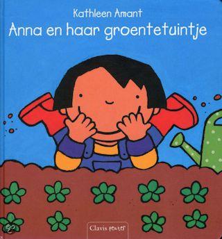 Anna en haar groentetuintje Boek omslag