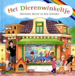 Dierenwinkeltje, het Boek omslag