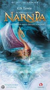 Narnia: De reis van het drakenschip luisterboek Boek omslag