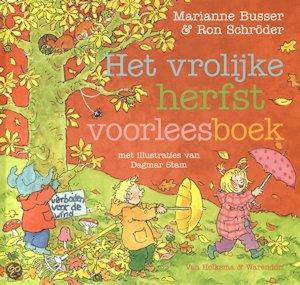 Vrolijke herfst voorleesboek, het Boek omslag