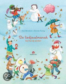 Liedjesalmanak: herfst & winter luisterboek, de Book Cover