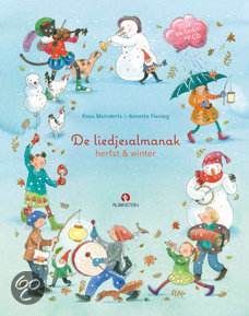 Liedjesalmanak: herfst & winter luisterboek, de Boek omslag