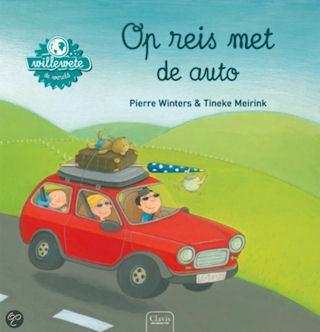 Willewete Op reis met de auto Boek omslag