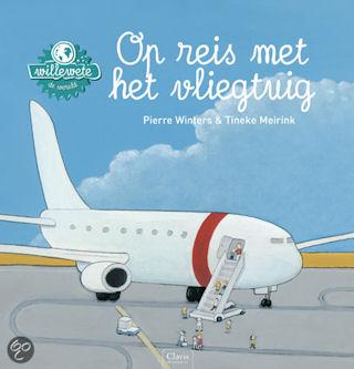 Willewete Op reis met het vliegtuig Boek omslag