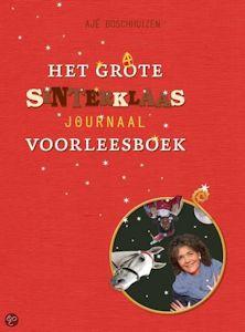 Grote Sinterklaasjournaal voorleesboek, het Boek omslag