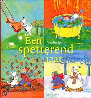 Spetterend jaar, een Book Cover