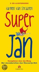 Super Jan luisterboek Boek omslag