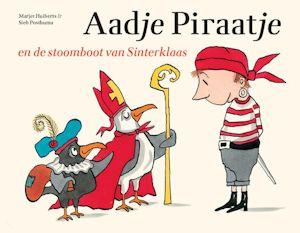 Aadje Piraatje en de stoomboot van Sinterklaas Boek omslag