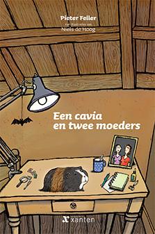 Cavia en twee moeders, een Boek omslag