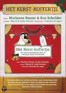 Kerstkoffertje, het Boek omslag