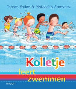 Kolletje leert zwemmen Book Cover
