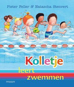 Kolletje leert zwemmen Boek omslag