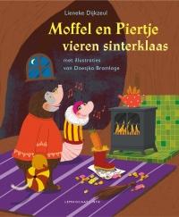 Moffel en Piertje vieren Sinterklaas en Kerst Boek omslag