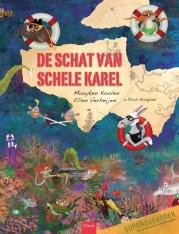 Schat van schele Karel, de Boek omslag