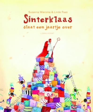 Sinterklaas slaat een jaartje over Boek omslag
