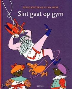 Sint gaat op gym Boek omslag