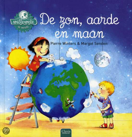 Willewete De zon, aarde en maan Book Cover