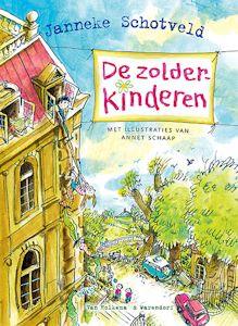 Zolderkinderen, de Boek omslag