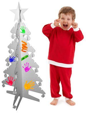 Kartonhuis_Kerstboom