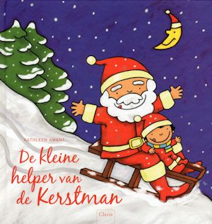 Kleine helper van de Kerstman, de Book Cover