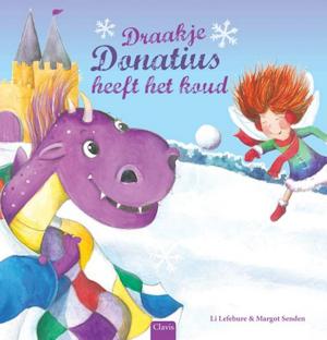 Draakje Donatius heeft het koud Boek omslag
