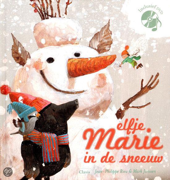 Elfje Marie in de sneeuw Boek omslag