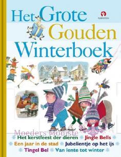 Grote Gouden Winterboek, het Boek omslag