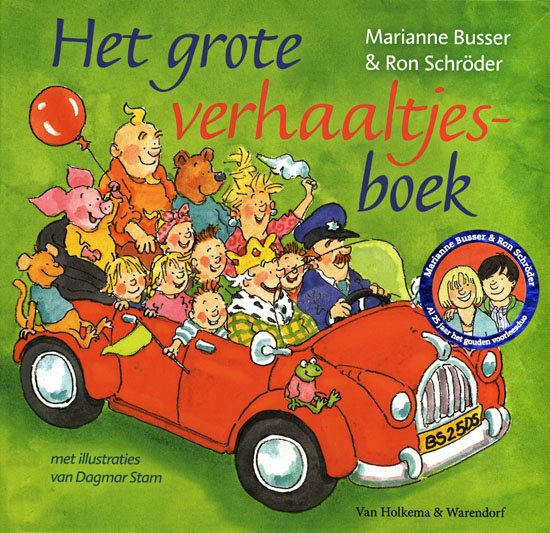 Grote verhaaltjesboek, het Book Cover