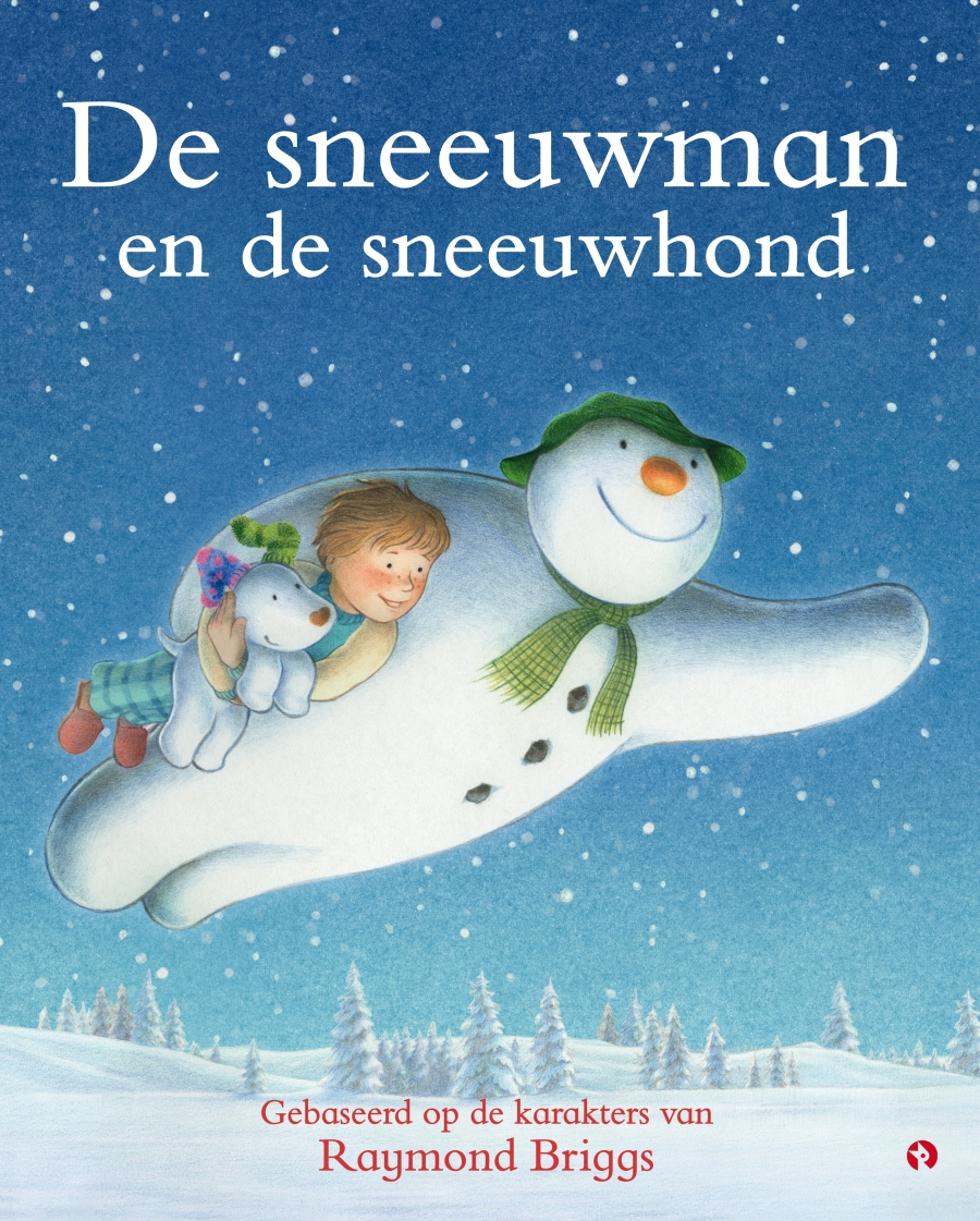 Sneeuwman en de sneeuwhond, de Book Cover