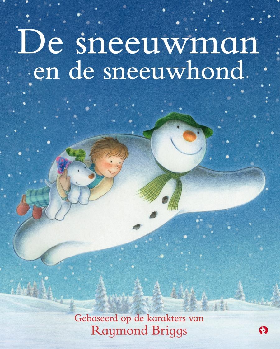 Sneeuwman en de sneeuwhond, de Boek omslag