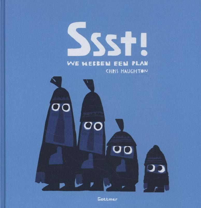 Ssst! We hebben een plan Boek omslag