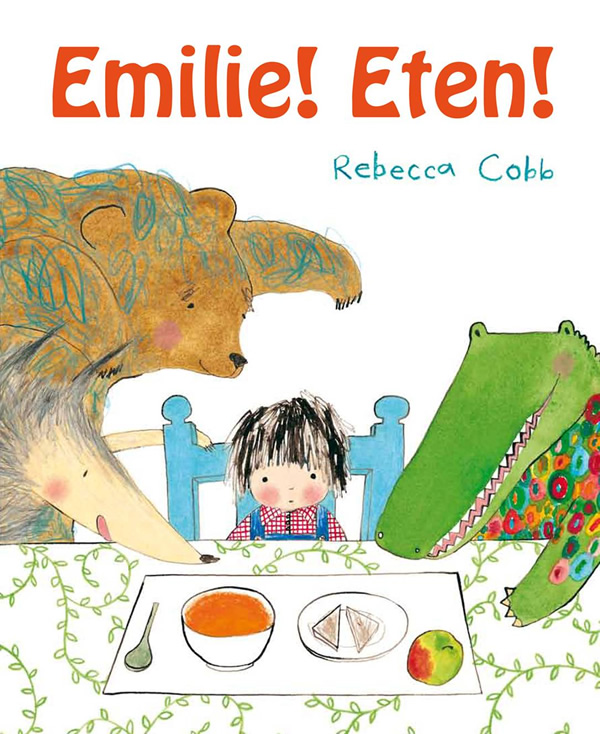 Emilie! Eten! Boek omslag