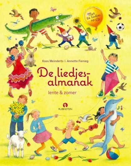 Liedjesalmanak: lente en zomer, de Book Cover