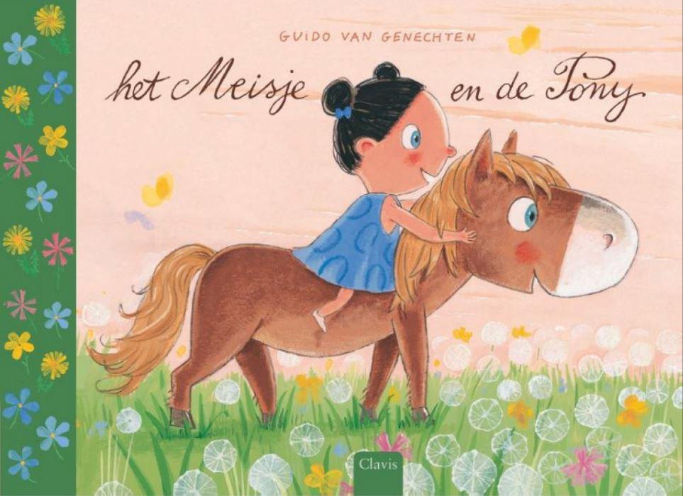Meisje en de pony, het Boek omslag