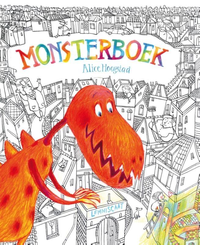 Monsterboek Boek omslag