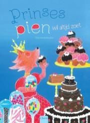 Prinses Pien wil altijd zoet Boek omslag