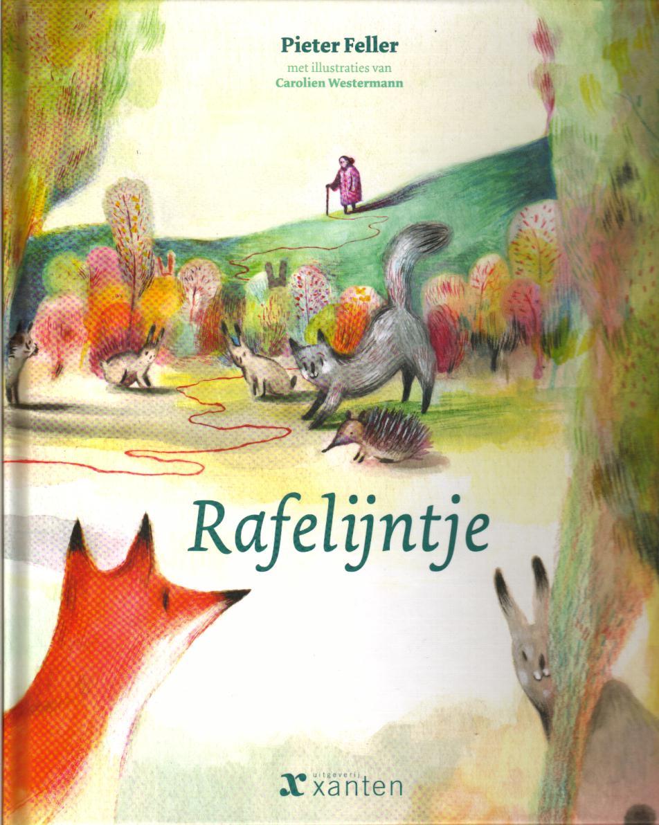 Rafelijntje Boek omslag