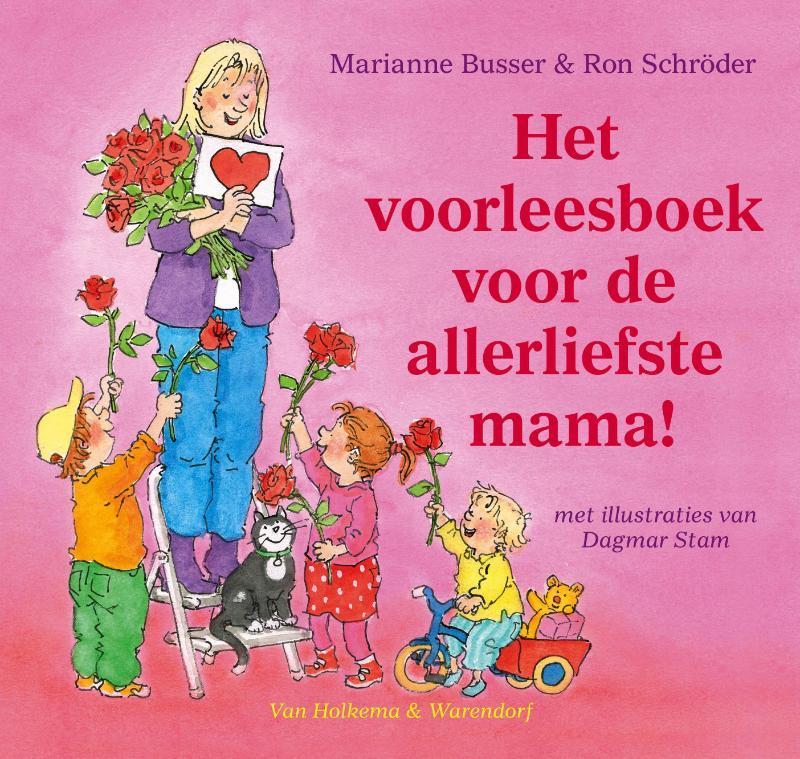 Voorleesboek voor de allerliefste mama, het Boek omslag