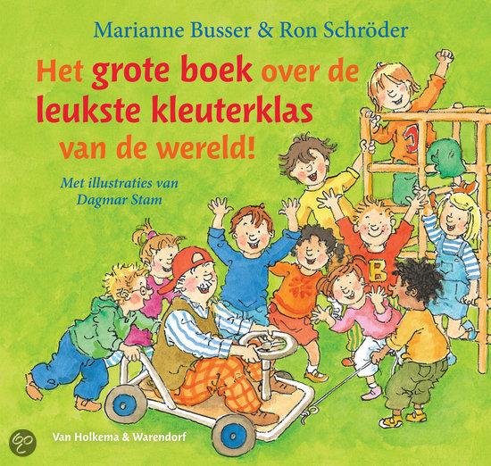 Grote boek over de leukste kleuterklas van de wereld!, het Boek omslag