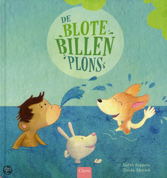 Blote billen plons, de Book Cover
