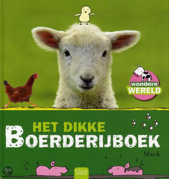 Dikke boerderijboek, het Boek omslag